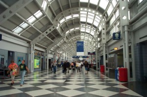 United Airlines Terminal at O'Hare