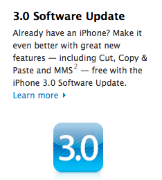 iPhone 3.0 Software Update