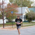 Me at mid-run.  This was at about mile 5 or 6